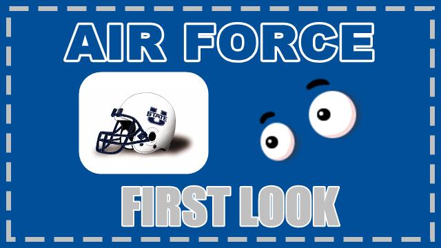 Air Force First Look Utah State