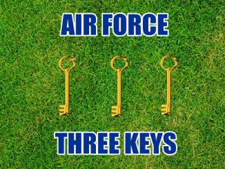 Three keys Air Force